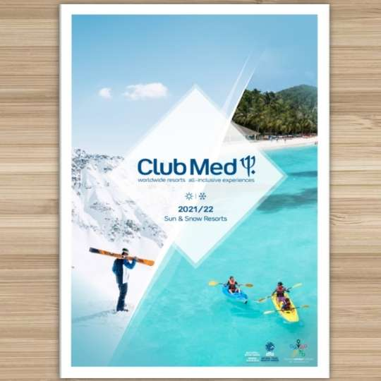 Club Med Brochure Image with link to brochure Book with Valhalla Travel